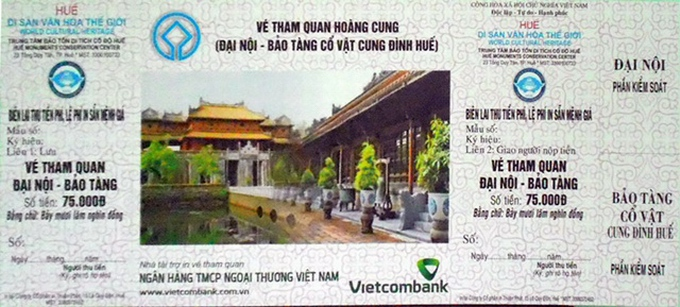 Entrance fees at popular tourist sites in Vietnam