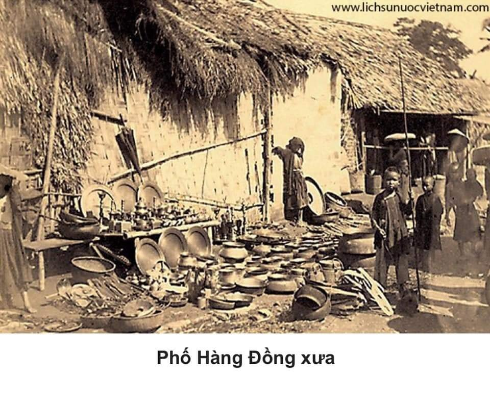 Hang Dong street in the old days