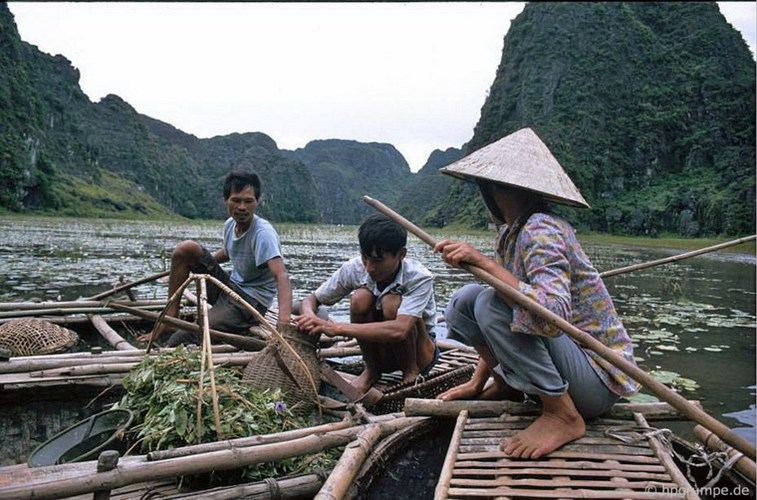 Local people making a living