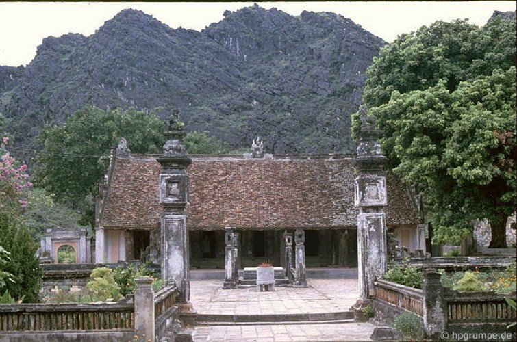 Temple of King Dinh in Hoa Lu