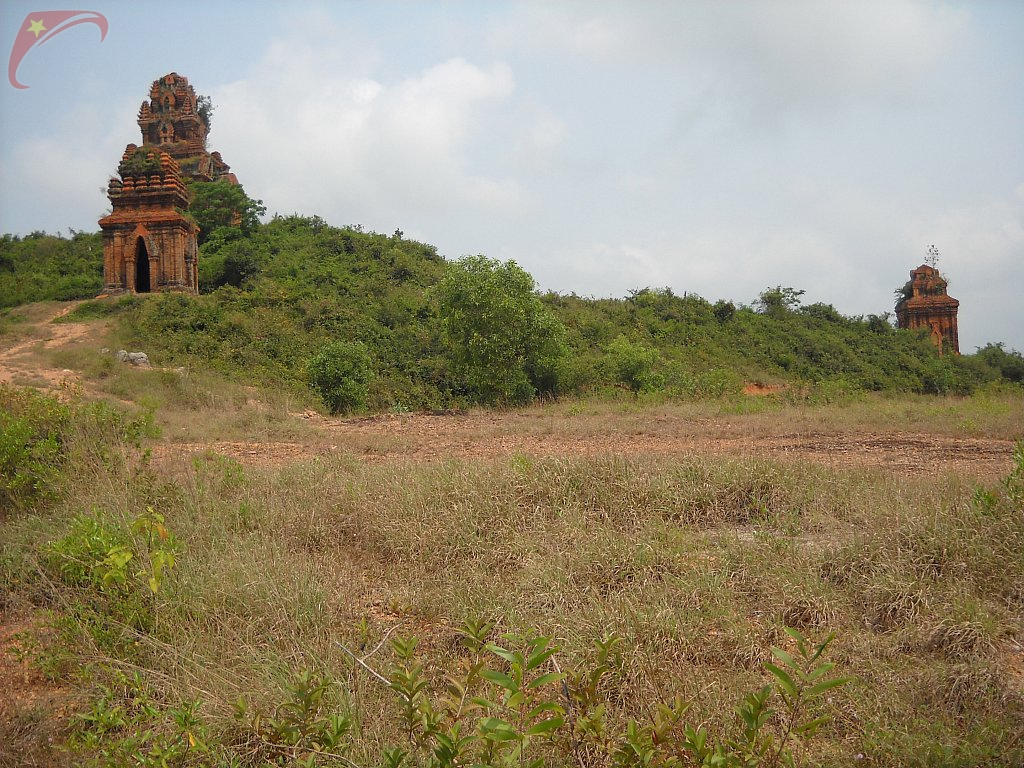 Champa tower in Tuy Phuoc district