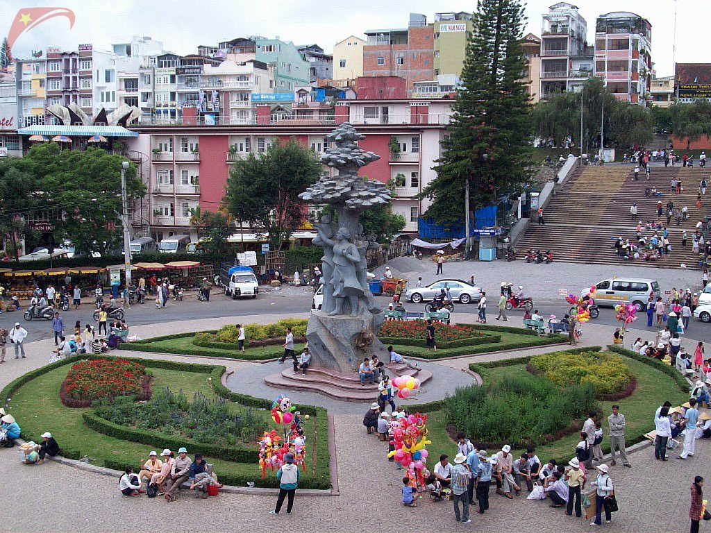Da Lat city centre